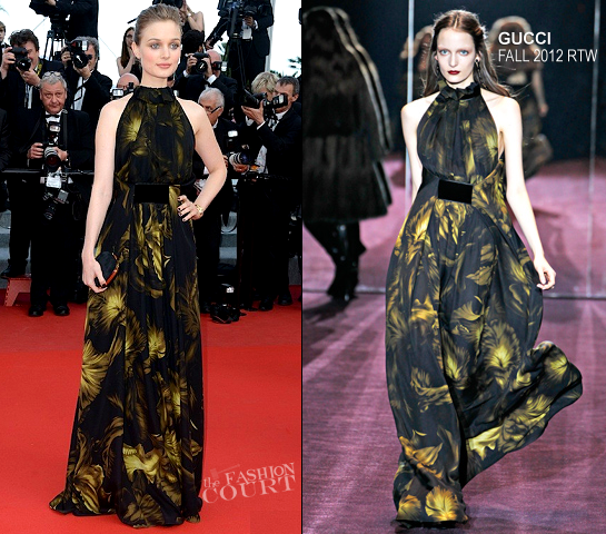 Bella Heathcote in Gucci | 2012 Cannes Film Festival - 'Madagascar 3' Premiere