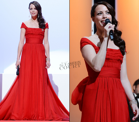 Bérénice Béjo in Louis Vuitton | 2012 Cannes Film Festival Opening Ceremony