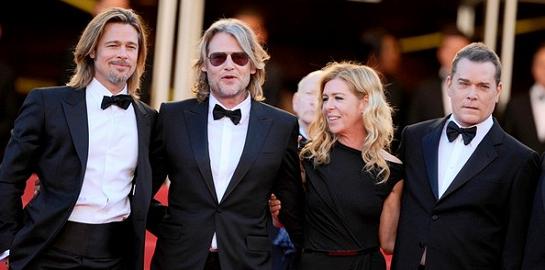 Brad Pitt in Balenciaga | 2012 Cannes Film Festival - 'Killing Them Softly' Premiere