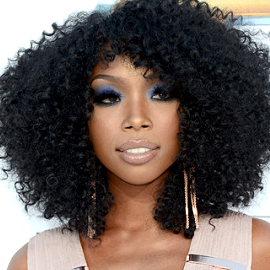Brandy in Herve Leger | 2012 Billboard Music Awards