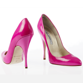 Brian Atwood STARLET Neon Pumps