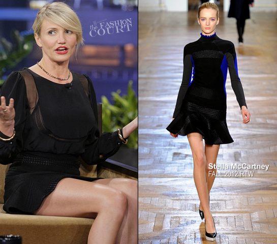 Cameron Diaz in Stella McCartney | 'The Tonight Show with Jay Leno'