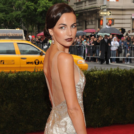 Camilla Belle in Ralph Lauren Collection | 2012 MET Gala