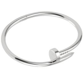 Cartier Juste Un Clou Bracelet - White Gold