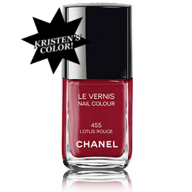 CHANEL Le Vernis Nail Color in Lotus Rouge