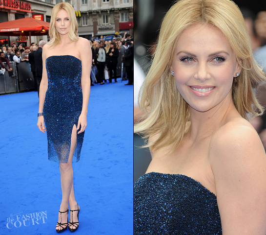 Charlize Theron in Christian Dior Couture | 'Prometheus' London Premiere