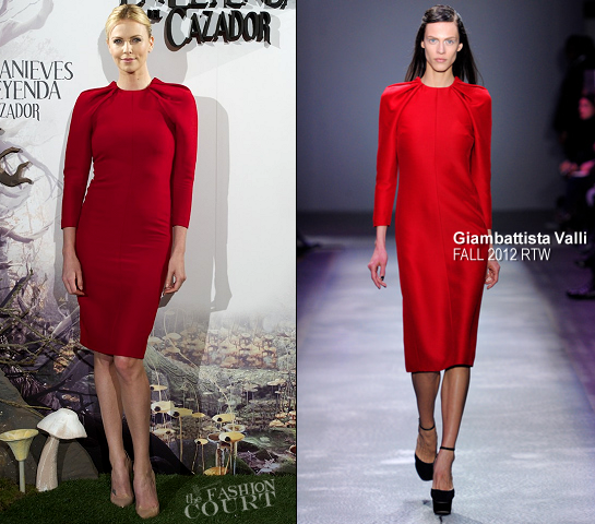 Charlize Theron in Giambattista Valli | 'Snow White and the Huntsman' Madrid Photocall