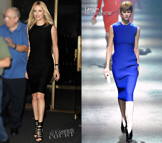 Charlize Theron in Lanvin | NBC's The 'Today' Show
