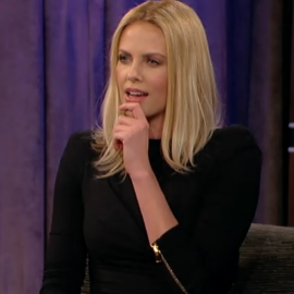 Charlize Theron in Tom Ford | 'Jimmy Kimmel Live'