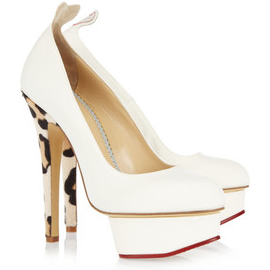 Charlotte Olympia LOVE DOLLY Platform Pumps
