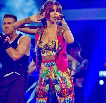 Cheryl Cole in Roberto Cavalli | 'The Voice UK'