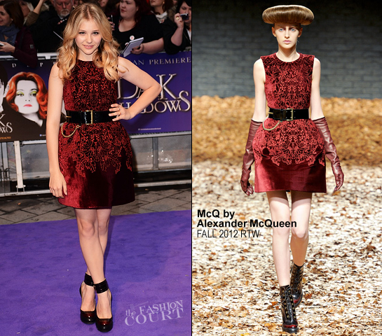 Chloe Moretz in McQ | 'Dark Shadows' London Premiere