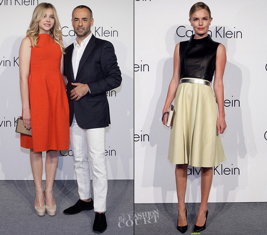 Chloe Moretz & Kate Bosworth in Calvin Klein Collection | 'Infinite Loop' Hosted By Calvin Klein