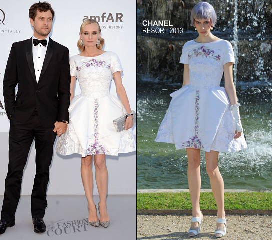 Diane Kruger in Chanel | amfAR's Cinema Against AIDS 2012