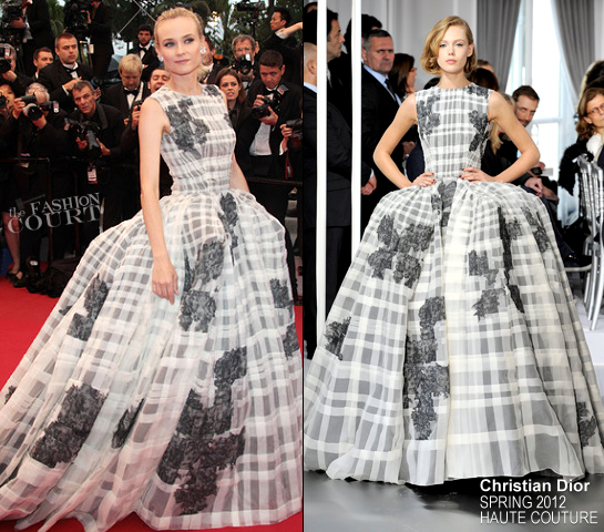 Diane Kruger in Christian Dior Couture | 2012 Cannes Film Festival Closing Ceremony & 'Therese Desqueyroux' Premiere