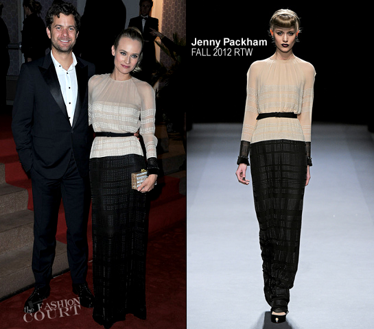 Diane Kruger in Jenny Packham | 2012 Cannes Film Festival Winners Dinner