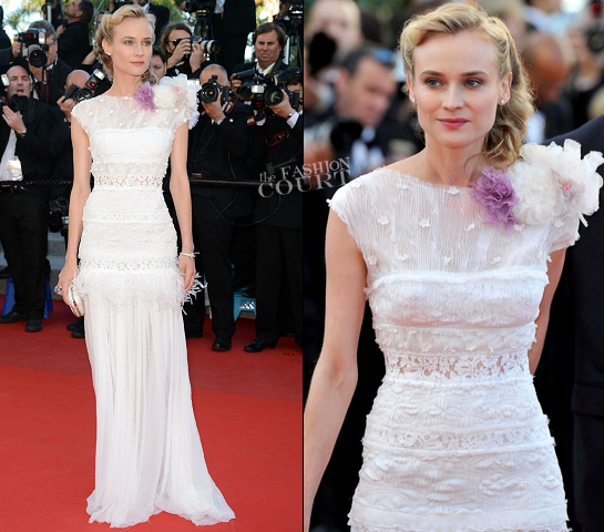 Diane Kruger in Nina Ricci | 2012 Cannes Film Festival - 'Killing Them Softly' Premiere