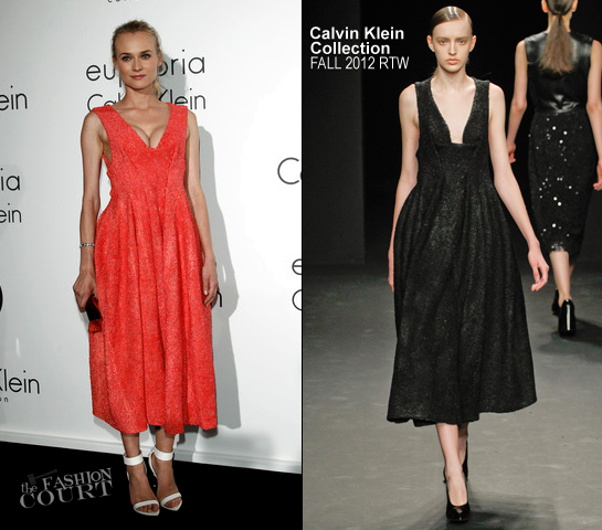 Diane Kruger in Calvin Klein | Women In Film Celebration - 2012 Cannes Film Festival
