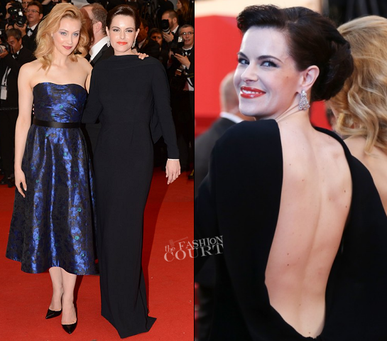 Emily Hampshire in Stella McCartney | 'Cosmopolis' Premiere - 2012 Cannes Film Festival