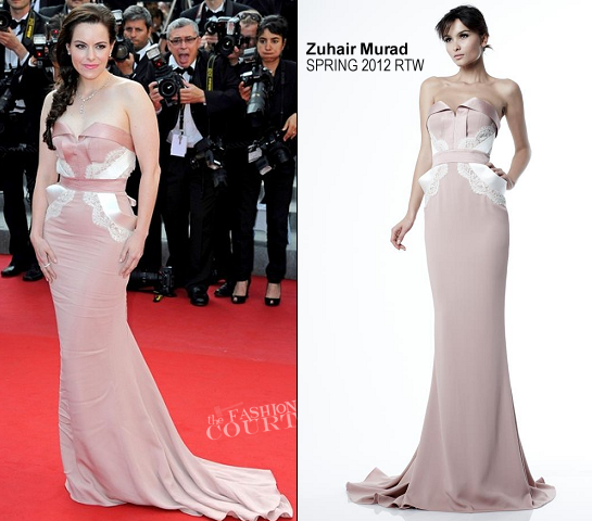 Emily Hampshire in Zuhair Murad | 'Mud' Premiere - 2012 Cannes Film Festival