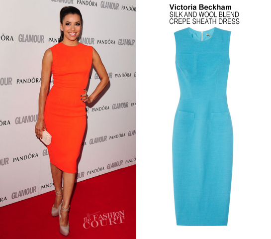 Brian Atwood in Victoria Beckham | Glamour Women of the Year Awards 2012