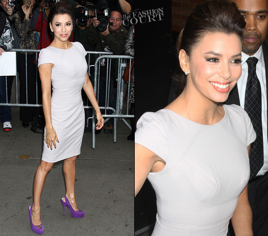 Eva Longoria in Elie Saab | 'Good Morning America'