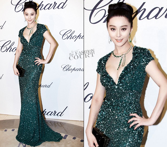 Fan Bingbing in Elie Saab | 2012 Cannes Film Festival - Trophée Chopard Party
