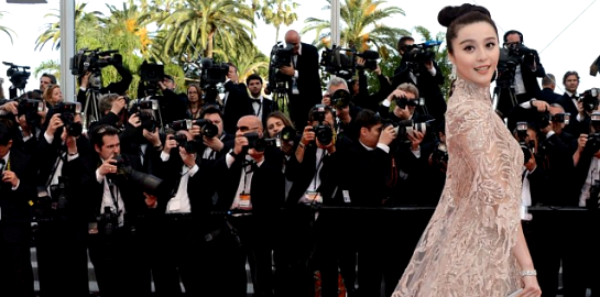 Fan Bingbing in Elie Saab Couture | 2012 Cannes Film Festival - 'De Rouille et D'os' Premiere