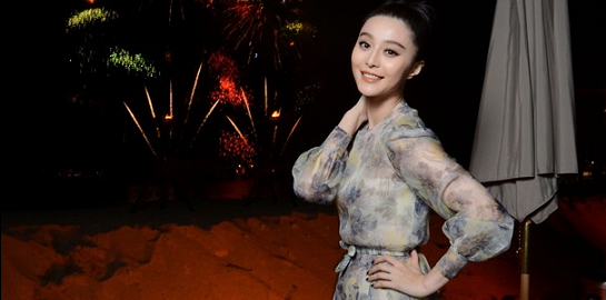 Fan Bingbing in Valentino Couture | L'Oréal Paris 15th Anniversary Dinner - 2012 Cannes Film Festival