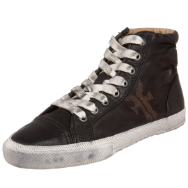 FRYE 'KIRA' High Top Distressed Sneakers