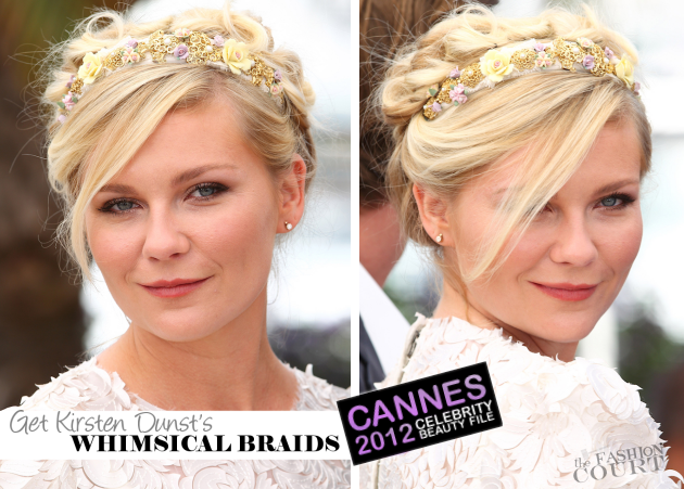 From Tip-to-Toe: Kirsten Dunst's Hairstylist On How You Cannes Recreate Her Whimsical Look!