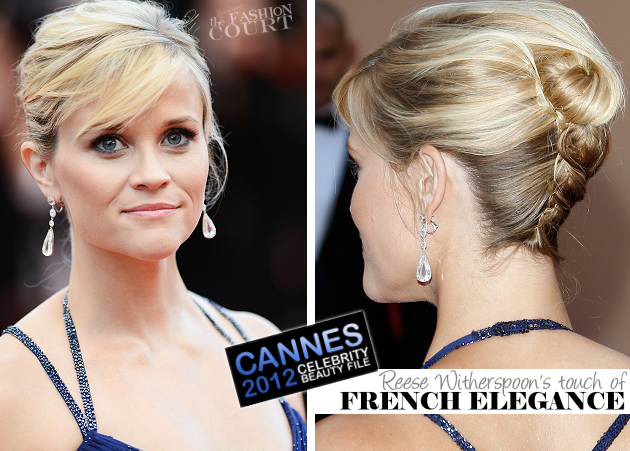 From Tip-to-Toe: Reese Witherspoon's Hairstylist Helps You Get Her French Twist!