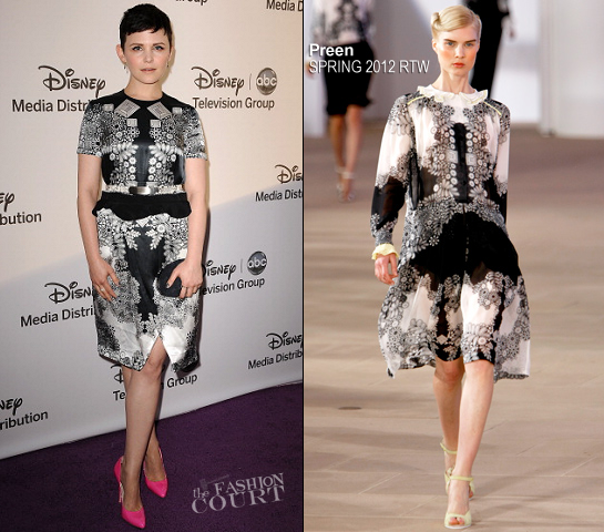 Ginnifer Goodwin in Preen | Disney Media Networks International Upfronts