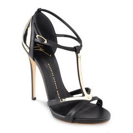 Giuseppe Zanotti Metal Plate Sandals