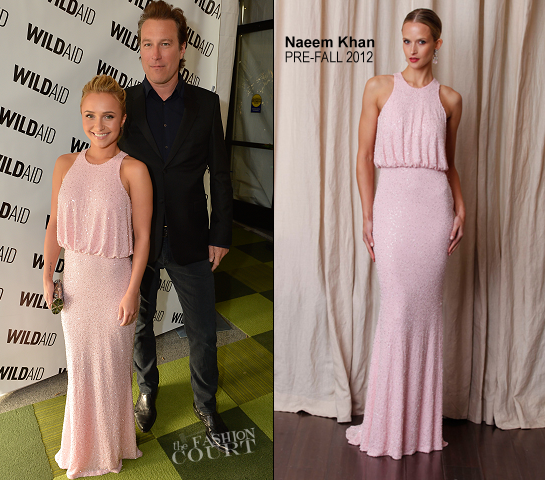Hayden Panettiere in Naeem Khan | WildAid Charity Gala
