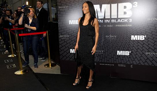 Jada Pinkett Smith in Armani | 'Men in Black 3' Paris Premiere