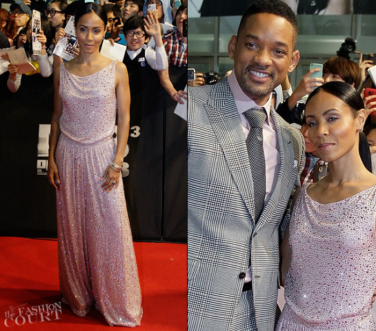 Jada Pinkett Smith in Giorgio Armani | 'Men in Black 3' Seoul Premiere