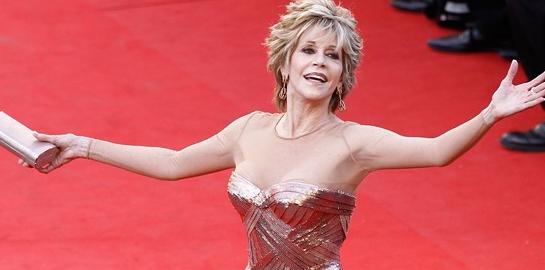 Jane Fonda in Atelier Versace | 2012 Cannes Film Festival Opening Ceremony & 'Moonrise Kingdom' Premiere