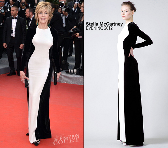 Jane Fonda in Stella McCartney | 2012 Cannes Film Festival - 'De Rouille et D'os' Premiere