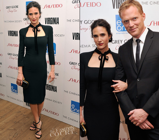 Jennifer Connelly in Alexander McQueen | 'Virginia' NYC Screening