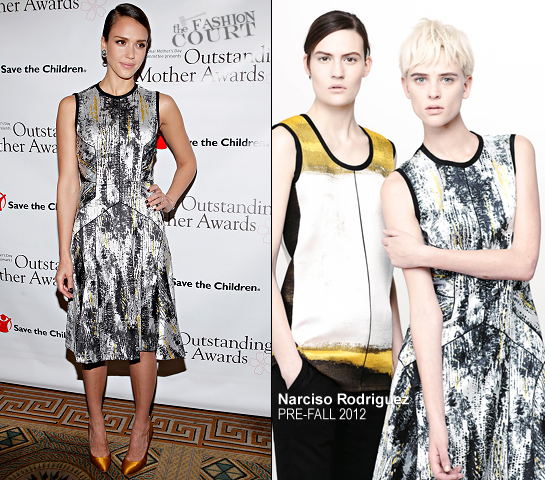 Jessica Alba in Narciso Rodriguez | 2012 Outstanding Mother Awards
