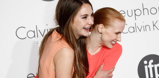 Jessica Chastain in Calvin Klein | Women In Film Celebration - 2012 Cannes Film Festival