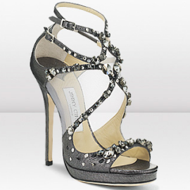Jimmy Choo Crystal Embellished VIOLA Sandals