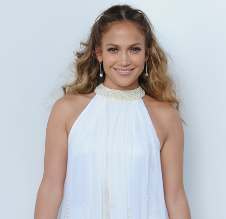 Jennifer Lopez in Alberto Makali | 'American Idol' Season 11 Top 4 To 3 Elimination Show