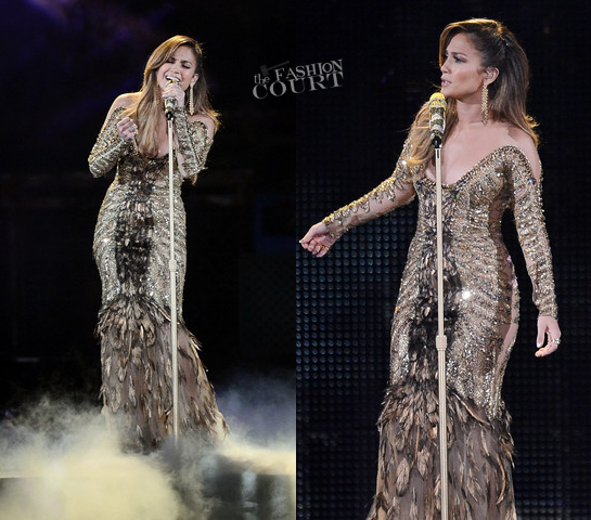Jennifer Lopez in Zuhair Murad Couture | Q'Viva! The Chosen Live Show
