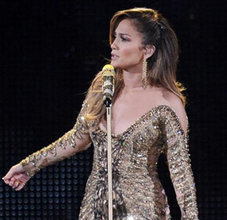 Jennifer Lopez in Zuhair Murad Couture | Q'Viva! The Chosen Live Show