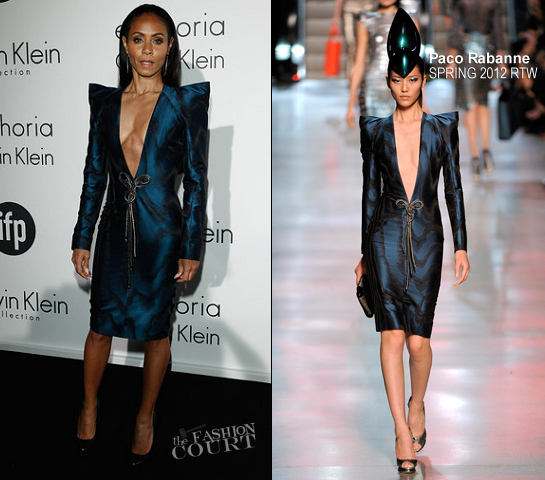 Jada Pinkett Smith in Paco Rabanne | Women In Film Celebration – 2012 Cannes Film Festival