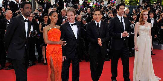 Jada Pinkett Smith in Versace | 2012 Cannes Film Festival - 'Madagascar 3' Premiere