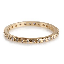 Kara Ackerman Talualah Eternity Stacking Ring