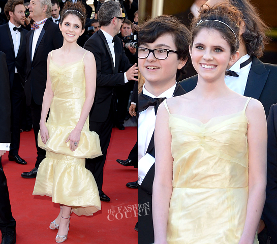 Kara Hayward in Louis Vuitton | 2012 Cannes Film Festival Opening Ceremony & 'Moonrise Kingdom' Premiere